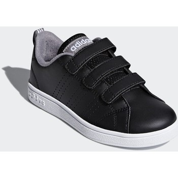 adidas VS Adv CL Cmf C girls's Children's Shoes (Trainers) in Black. Sizes available:Kid 1,Kid 2,Kid 12,Kid 13